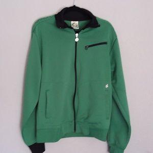 Volcom debaser 2 track green jacket size XL
